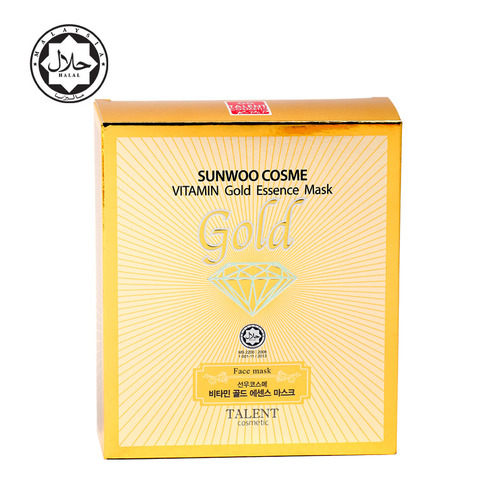 Image result for sunwoo cosme gold mask